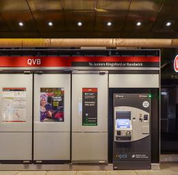 Light Rail Station, QVB, Sydney
